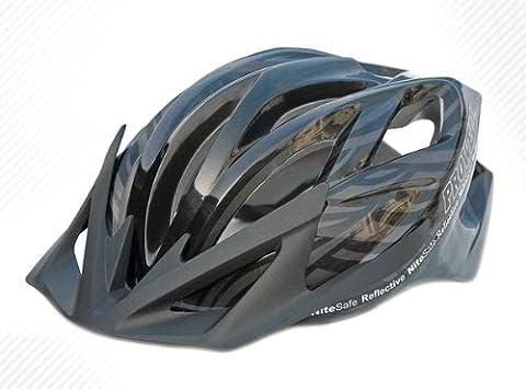 Prowell F5000R Cyclone cycle helmet (Black,