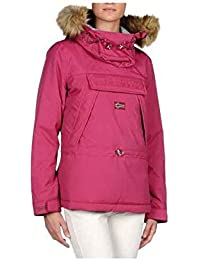 Napapijri Jackets Skidoo Woman Eco-Fur Bloom Fuxia M