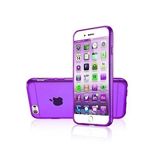 Avcibase Slim TPU Silikon durchsichtige vollfarbige Schutzhülle für Apple iPhone 6 (11,9 cm (4,7 Zoll), 0,3mm) grün Violett