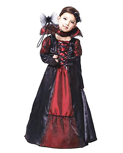 Inception Pro Infinite Taille L - 8 - 9 Ans - Costume - Déguisement - Carnaval - Halloween - Chica Vampire - Dracula - Couleur Black Girl
