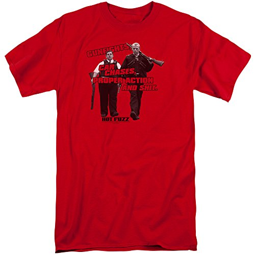 Hot Fuzz Herren T-Shirt Gr. XXXL, - Hot Fuzz-t-shirt