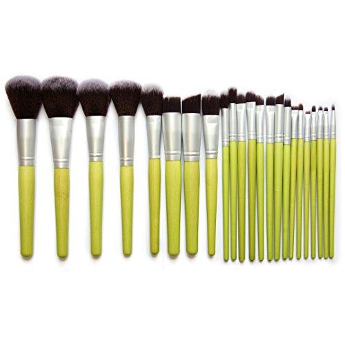 RoseFlower® Professionnel 23 Pcs Pinceaux Maquillage Trousse - Pro Make Up Cosmétique Brosse / Brushes Kit Pour Visage Blending Fondation Blush Eyeliner Poudre
