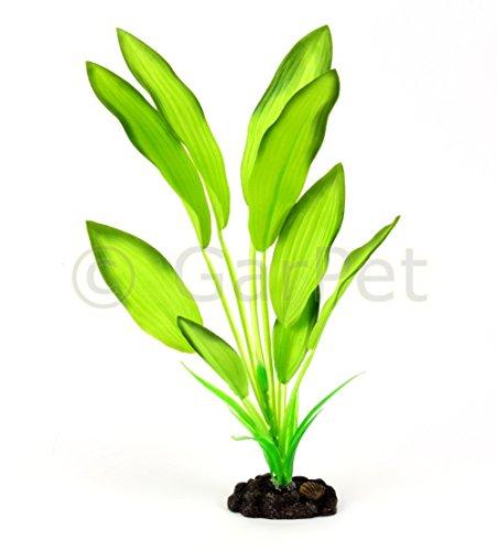 Künstliche Aquarium Wasser Pflanze aus Seide Seidenpflanze Kunstpflanze - Seide Lösung