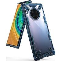 Ringke Fusion X Gestaltet für Huawei Mate 30 Pro, Huawei Mate 30 Pro 5G Hülle, Schutzhülle (2019) - Space Blue