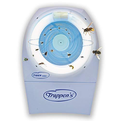 Trappens Tiger 32 Fliegenfänger & Wespenfalle | Elektrischer insektenvernicher und insektenfänger