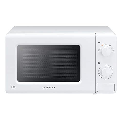 Daewoo Manual Control Microwave, 700 W, 20 Litre, White