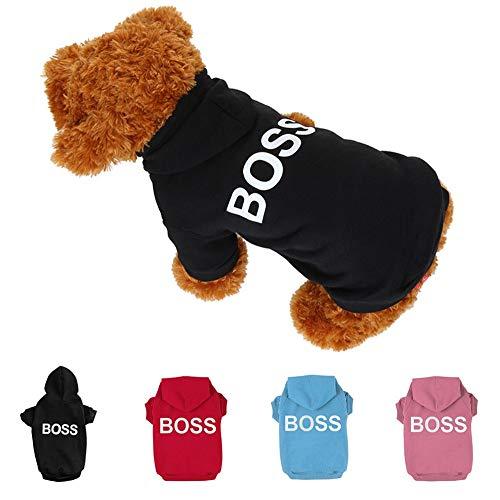 Fitfulvan Hundemantel mit Kapuze, warm, für Welpen -