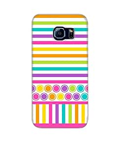 Pick Pattern Back Cover for Samsung Galaxy S6 edge SM-G925 (MATTE)