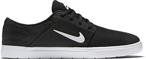 Nike Sb Portmore Ultralight M, Chaussures de Sport Homme Noir (Noir / Blanc-Noir)