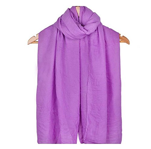 LAAT Dame Zuckerwatte Farbschal Schal Schal Frau Schal Baumwolle einfarbig Schal Wrap Sonnencreme Schals (Color8)