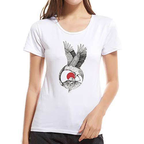 xmansky Familie Mutter Vater Kind Shirt, Freizeit Mutter und Tochter Kleidung Tierdruck Kurzarm T-Shirts Tops Damen Herren Bluse,Casual Family Matching Outfits (Mama)