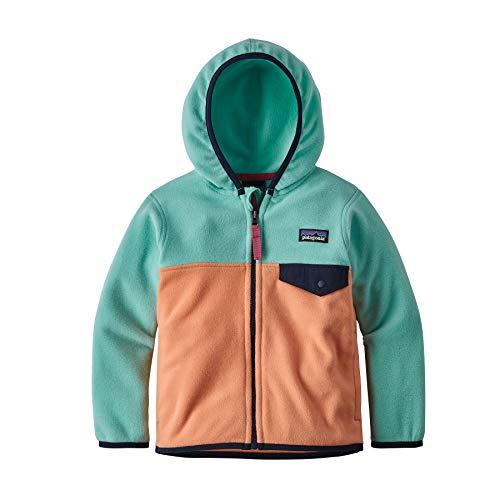 Patagonia Unisex-Kinder Baby Micro D Snap-T JKT Jacket, Pfirsich-Sorbet, XXS -