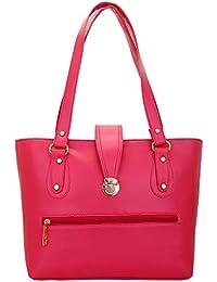 Lady Bar Women's Handbag (Pink,Bag-113)
