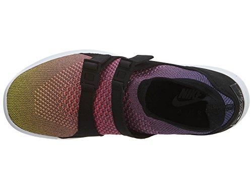 Nike Air Sockracer Flyknit Prm - 898021-700 - Jaune-Rose