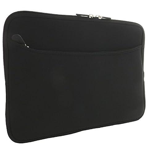 XiRRiX Laptoptasche 15 Zoll (38,1 cm) / 15,6 Zoll (39,6cm) Notebook Laptop Schutzhülle - universal Neopren Notebooktasche