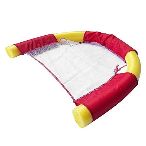 Schwimmender Nudelstuhl für Schwimmbecken mit Wassergeflecht Float U-Seat Flexible Portable -