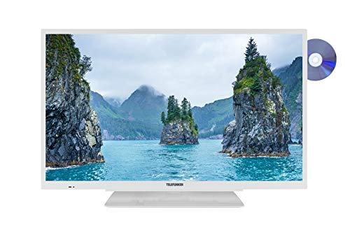 Telefunken XF32G111D-W 80 cm (32 Zoll) Fernseher (Full HD, Triple Tuner, DVD-Player integriert)