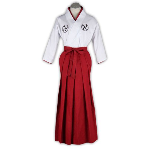 Dream2Reality japanische Anime Bleach Cosplay Kostuem -Shinigami Academy Maedchen Outfit Kid Size (Shinigami Cosplay Kostüm)