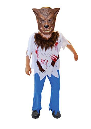 joker 996237/8-002 - Costume Uomo Lupo per Bambini, S