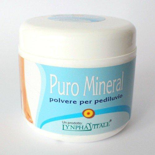 Poudre de Bain de pieds avec Cristal D'alun de Potassium Pur Minéral