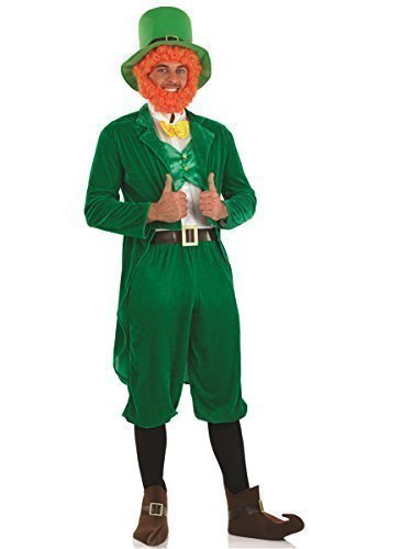 n Kobold St Patricks-Tag Irisch Kostüm Kleid Outfit M-XL - Grün, X-Large (St Patrick Tag Outfit)