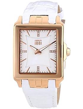 Cerruti 1881 Damen-Armbanduhr ODISSEA Analog Quarz Leder CRC014C216A