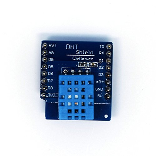 DHT 11 Temperaturmessung Feuchtigkeitsmessung Temperatur Feuchtigkeit Shield für WeMos D1 mini, Arduino, NodeMCU, ESP 8266