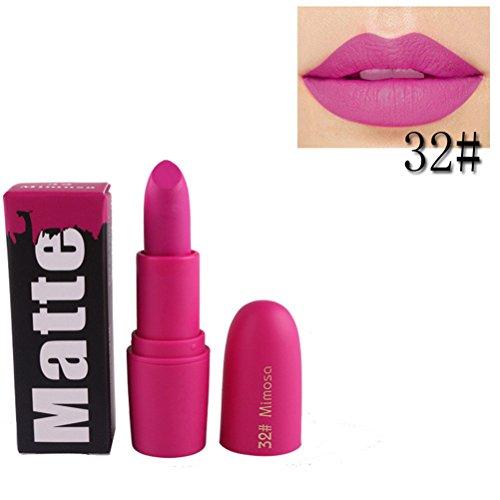 Rouge à lèvres,Lonshell Hydratant à lèvres lisses à long terme 18 Couleurs (Taille unique, 32#)