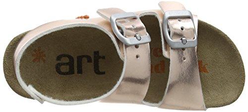 Art A433, Sandales à Plateforme Fille Or (Nude)