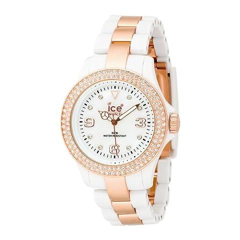 Ice-Watch Armbanduhr ice-Stone Unisex WeissŸ ST.WE.U.P.09
