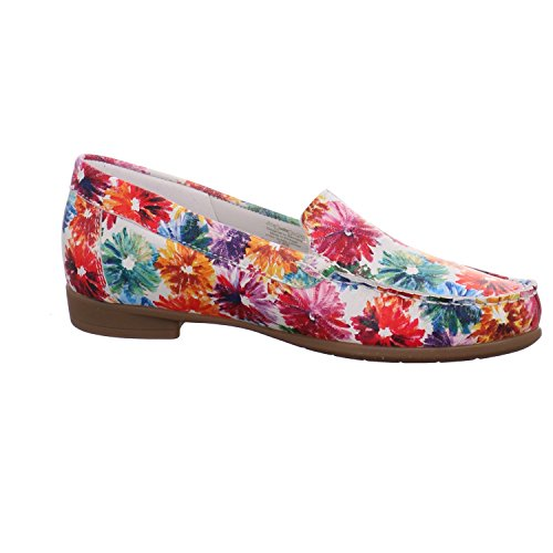 ARA - Fiorello 12-30771 - Damen Slipper - Multicolor Schuhe in G Weite kombi