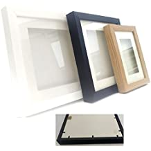 Marco de caja expositora 3D, para medallas, 1,5 cm, de Frame Centre, Oak (Wood Effect), 5 x 5