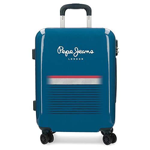 Pepe Jeans Yarrow Bagaglio a mano 55 centimeters 38.4 Blu (Azul)