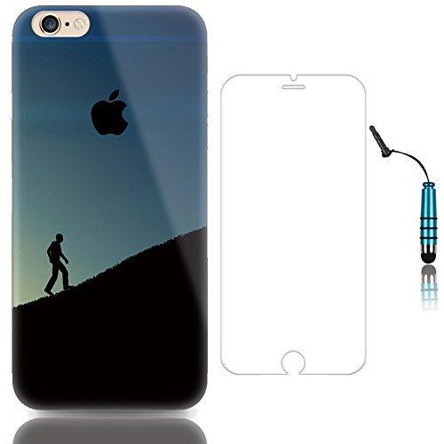 "Sunroyal iPhone 6 6S 4.7"" Hülle Silver Silber TPU Case Schutzhülle Silikon Rückseite Klar Clear Case Durchsichtig Bumper Zurück Bling Crystal Kirstall Diamant Strass Rhinestone Frame Rahmen Pattern 17"