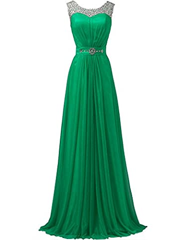 WAWALI Sequins Straps Formal Prom Dresses Evening Party Gowns 26 Green