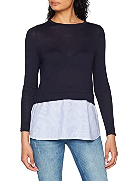Only Onlnew Oxford L/S Pullover Knt, Suéter para Mujer