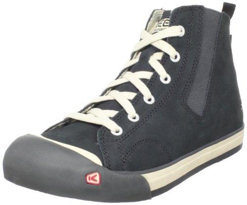 KEEN Youth Coronado High Top - Sneaker, Schuhgröße_Kinder:35 (US 3), Farbe:Black
