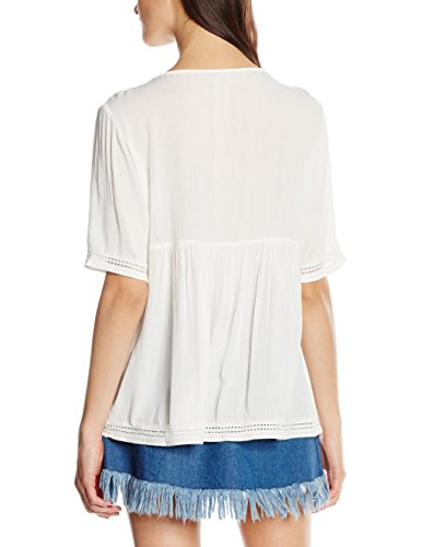 Only Damen T-Shirt Mehrfarbig (Cloud Dancer)