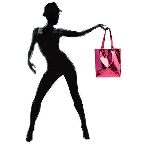 CASPAR Fashion, Borsa a spalla donna Pink