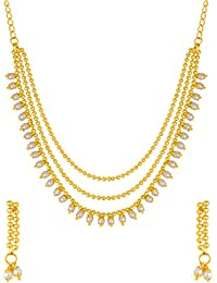 Voylla Gold Plated Jewellery Set for Women (8907617419237)