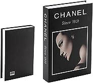 Decorative Fashion Home Fake book, Chanel black box book