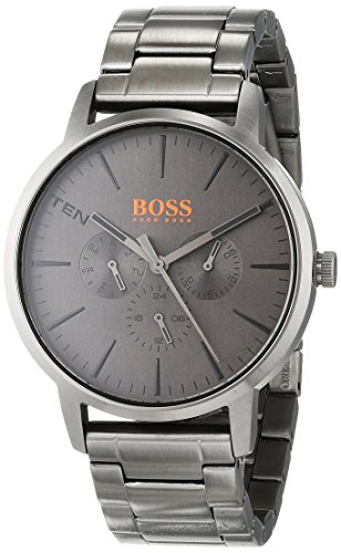 Hugo Boss Orange Unisex-Adult Multi dial Quartz Watch with Stainless Steel Strap 1550068