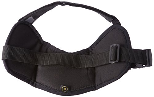 Dean & Tyler DT Works Certified Police Dog Dog Harness, Fits Girth Size 25-Inch to 34-Inch, Small, Orange/Black 2