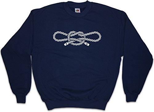 Urban Backwoods Narcos Handcuff Knot Sweatshirt Pullover – Sailor's Knots Pablo Seemannsknoten Größen S – 3XL