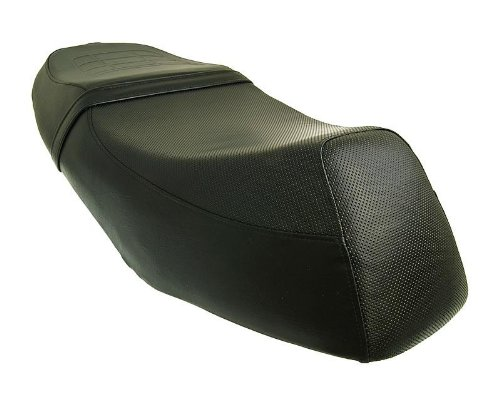 Sitzbank schwarz für REX (Jinan Qingqi, Shenke) RS 125 (QM125T-10D)