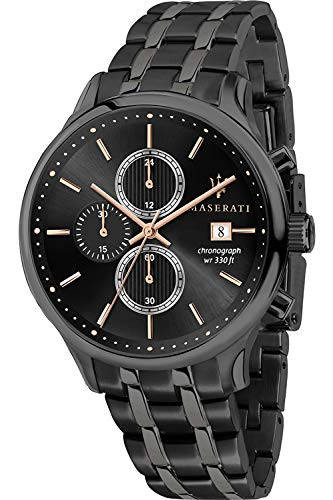 Maserati Gentleman Mens Analogue Quartz Watch with Stainless Steel Bracelet R8873636003