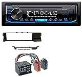 caraudio24 JVC KD-X351BT Aux USB Bluetooth MP3 Autoradio für BMW