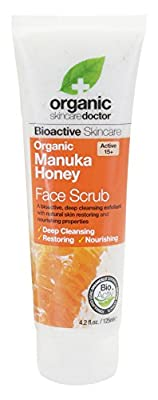 Dr. Organic Manuka Honey Scrub Nourish and Restore
