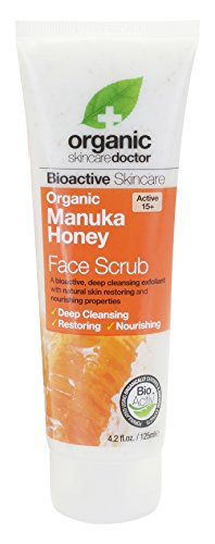 Dr.Organic Manuka Honey Scrub Viso 125 ml