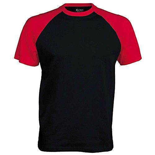 Kariban Short Sleeve Baseball T Shirt